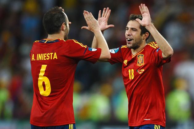 Euro 2012 Schedule: When and Where to Watch Spain Attempt History