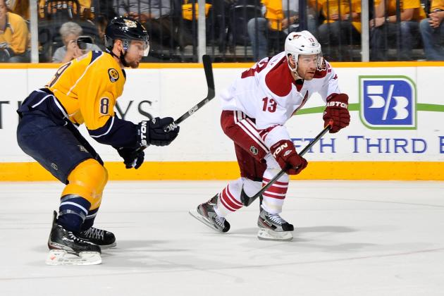 2012 NHL Free Agents: Ray Whitney Signs with Dallas Stars