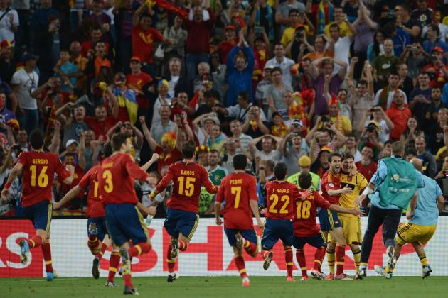 Euro 2012 Final: Spanish Victory Would Make La Roja Best Team in Sports Today