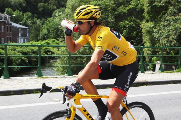 Tour De France 2012 Results: Fabian Cancellara Maintains Yellow Jersey Position