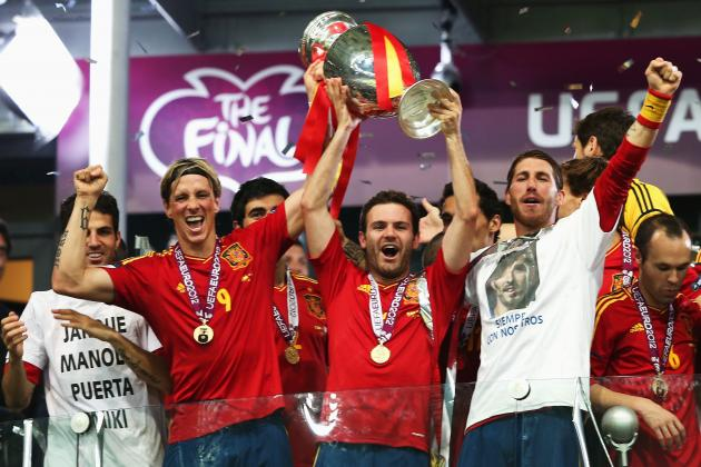 Spain vs. Italy Highlights: Key Moments in One-Sided Euro 2012 Final
