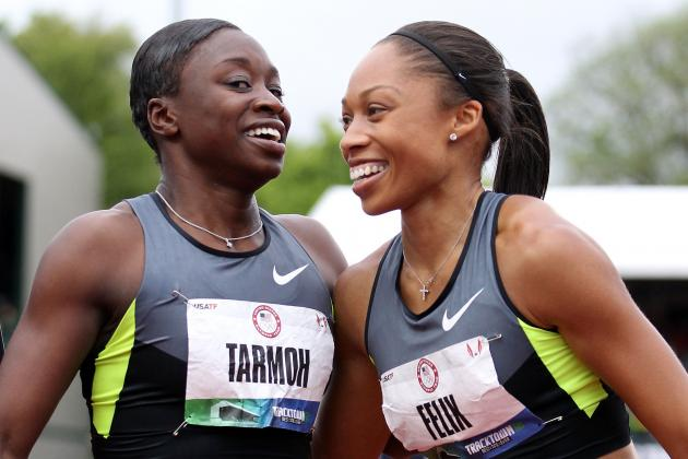 US Olympic Track Trials: Allyson Felix, Jeneba Tarmoh to Meet in 100M Runoff