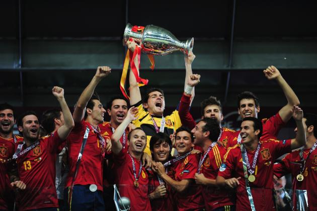 Euro 2012: Why Spain Is the Best National Side Ever