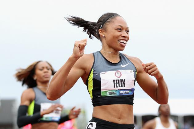 US Olympic Track Trials 2012: 100M Runoff a Reckless Gamble for Allyson Felix