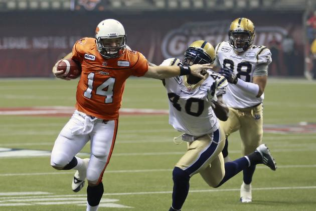 CFL 2012: Welcome Back, Canadian Football League!