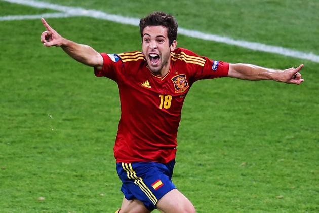 Barcelona: Jordi Alba's Euro 2012 Performances a Sign of Things to Come