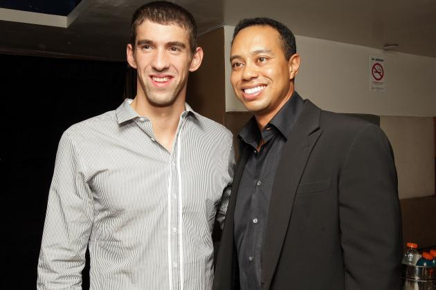 Compelling Dramas for Titanic Trio of Tiger Woods, Michael Phelps, Usain Bolt