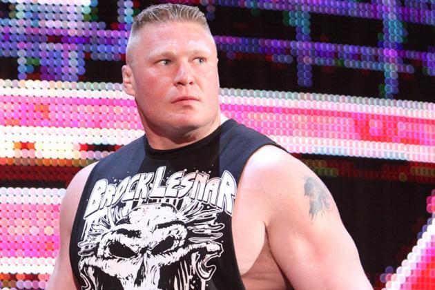 WWE Rumors: Brock Lesnar, Kurt Angle, Kevin Nash and Monday's Top WWE News