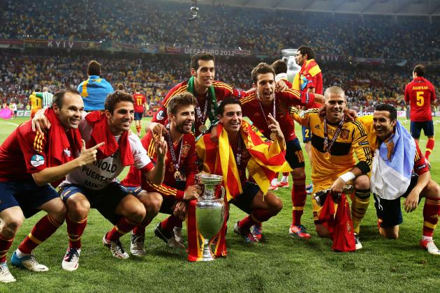 Euro 2012: Is Spain the Most Dominant National Team in Any Sport, Ever?