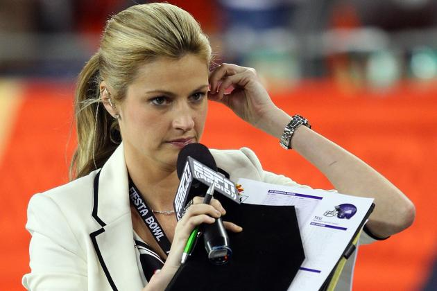 Erin Andrews: Fox Sports Needs More Than Andrews to Compete in College Football