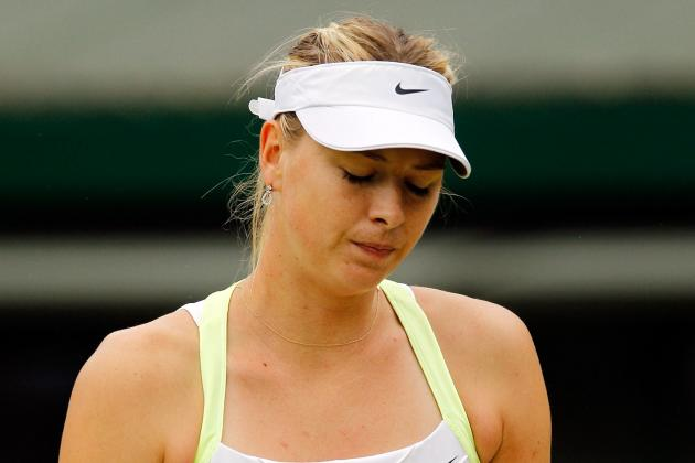Maria Sharapova Ousted by Sabine Lisicki at Wimbledon 2012