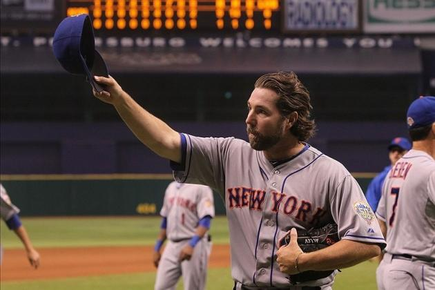 MLB All-Star Game 2012: Why R.A. Dickey Deserves to Start