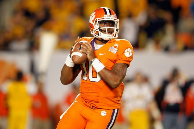 Clemson Football: Interview with Tajh Boyd