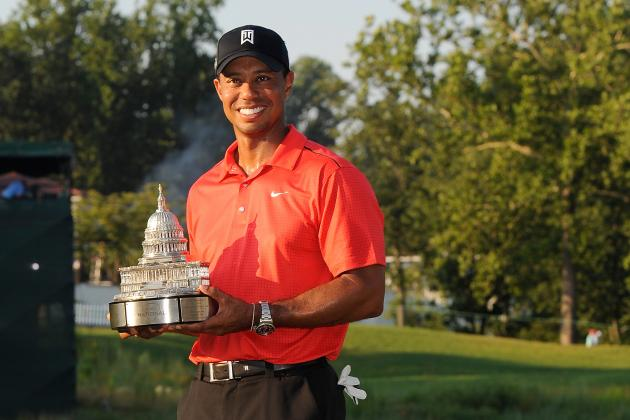 Tiger Woods Passes Jack Nicklaus with 74th Career PGA Tour Win