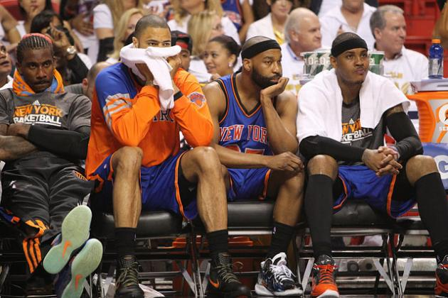 Carmelo Anthony, Amar'e Stoudemire and the Failure of the New York Knicks