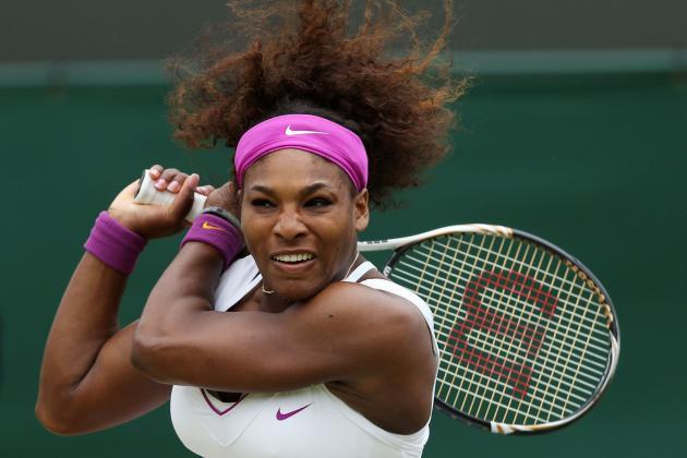 Wimbledon 2012: With Maria Sharapova Upset, Is It Now Serena Williams' to Lose?
