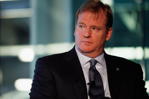 NFL: Roger Goodell's Discipline Falling on Deaf Ears