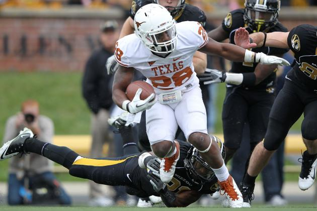 The 2012 Texas Longhorns: Quandre Diggs