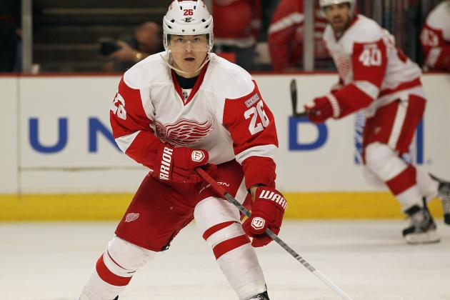 Flames Sign Ex-Wings F Jiri Hudler to 4-Year Deal