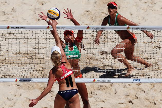 London 2012:  Threats to Misty May-Treanor and Kerri Walsh Winning 3rd Gold