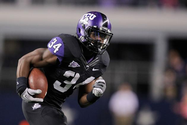 Former TCU RB Wesley Leads 'Best of the Rest' of 2012 NFL Supplemental Draft