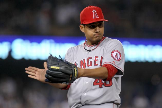 Angels' Frieri Looks to Join Trumbo, Trout, Weaver and Wilson at All-Star Game