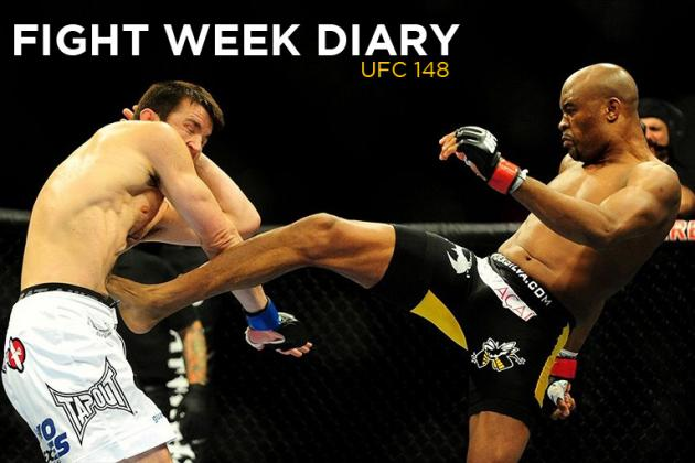 UFC 148 Fight Week Diary, Day 1: Leaving for Las Vegas