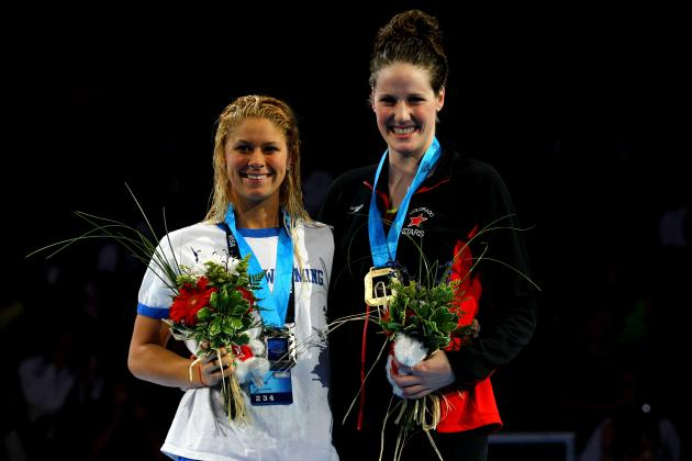 2012 Summer Olympics: US Swimmer Missy Franklin Is Next Michael Phelps