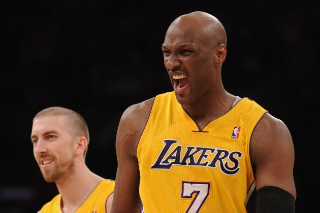 Why Lamar Odom Is the Luckiest Man in the NBA Right Now