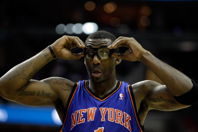 How the New York Knicks Should Utilize Amar'e Stoudemire in 2012