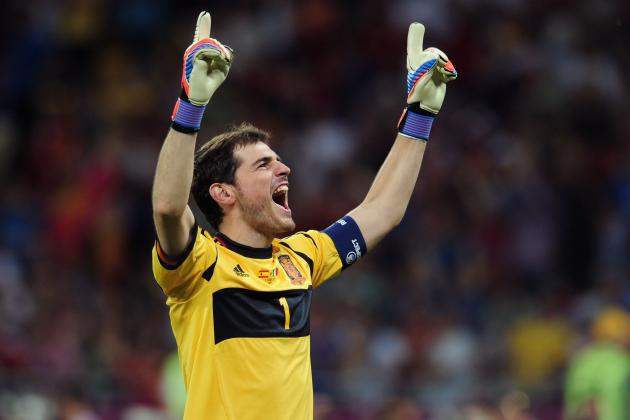 Euro 2012: Incredible Footage of Iker Casillas Asking Ref to End Game Early