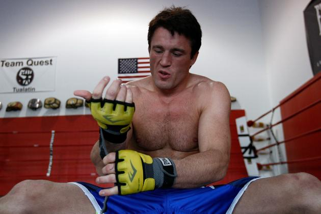 Anderson Silva vs. Chael Sonnen II: GSP Says Sonnen Is in the Champ's Head