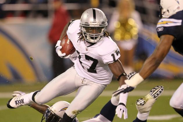 Oakland Raiders: Why Denarius Moore Will Be a Top-10 Receiver in 2012