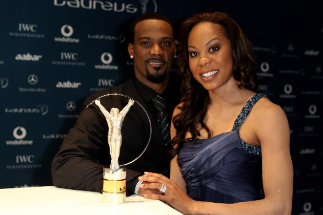US Olympic Trials 2012: Is Sanya Richards-Ross Faster Than NFL Hubby Aaron Ross?
