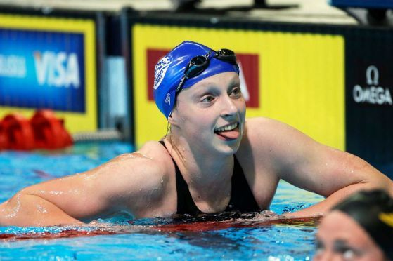 London 2012: Kathleen Ledecky, 15, Gives USA Swimming Youthful Burst