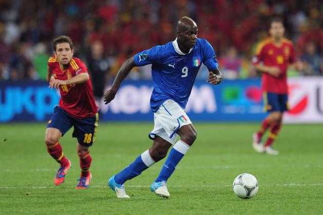 Italy vs. Spain: Mario Balotelli and More Azzurri Stars on Rise After Euro 2012