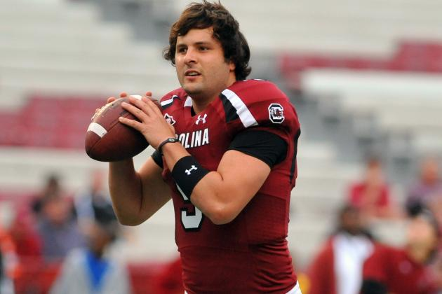 Former South Carolina QB Stephen Garcia Injures Finger Giving Peace Sign