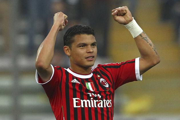 AC Milan Defender Thiago Silva Extends Contract Through 2017