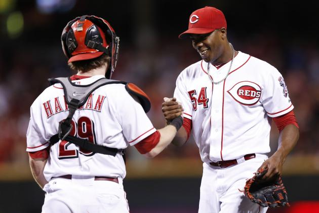 Votto, Bruce, Chapman Named NL All-Stars