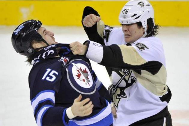 Pens Replace Asham with Winnipeg's Glass