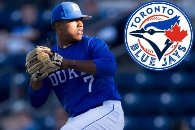 Blue Jays Sign Marcus Stroman