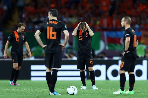UEFA Euro Cup 2012: Robin van Persie and the Worst Starting XI
