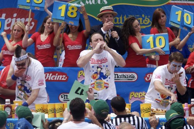 Nathan's Hot Dog Eating Contest 2012: Pegging Top Contenders on July 4th