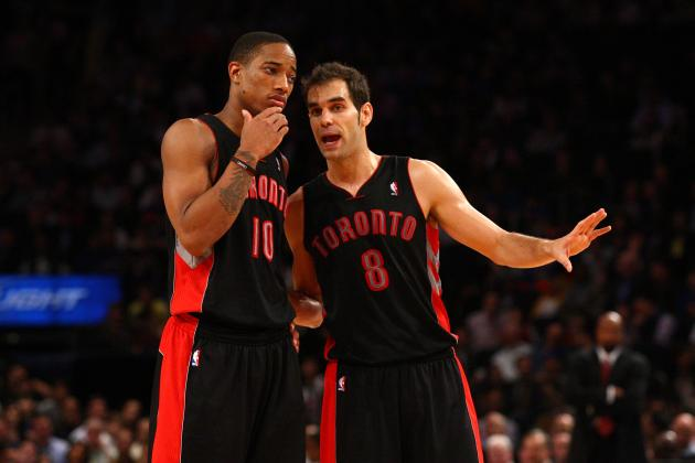 Lakers in Lead to Sign Jose Calderon If Raptors Use Amnesty Clause