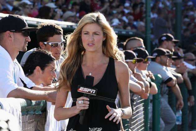 Erin Andrews Interested in X-Factor Gig, Took Career Advice from Adam Sandler