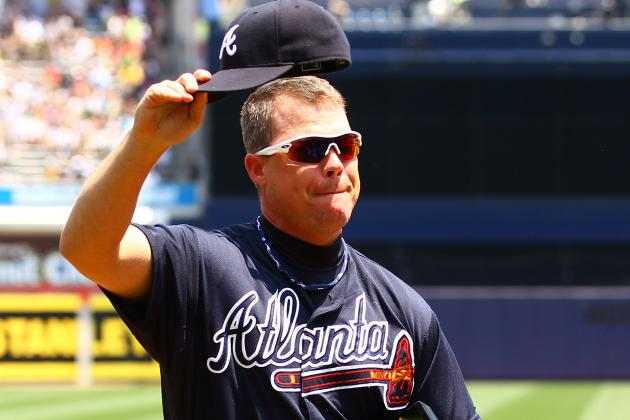 Naming Chipper Jones to the NL All-Star Team Makes 2012 Showcase Memorable