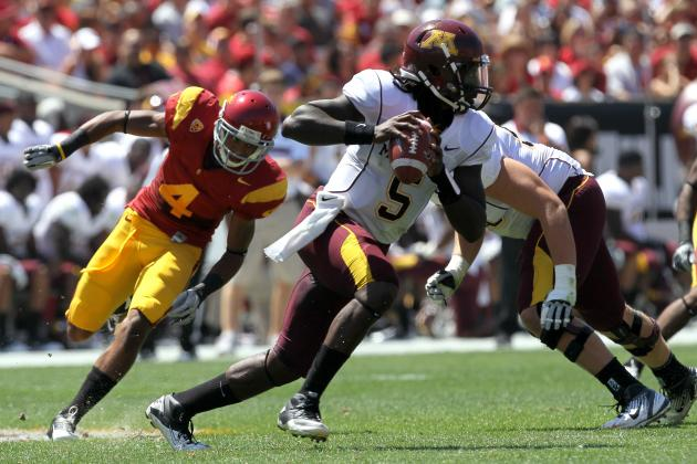 Big Ten Football Top 150 Players: No. 95, MarQueis Gray, Minnesota QB