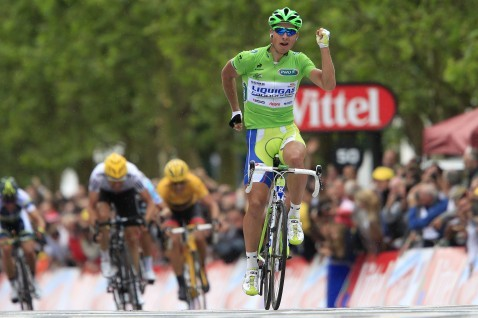 Peter Sagan's Finish Line Celebrations Are Just Fine