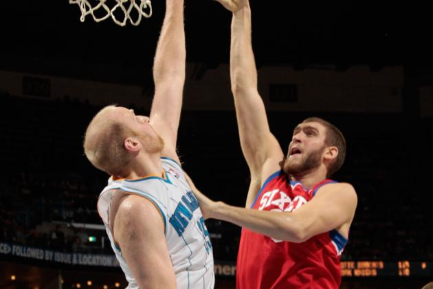 Spencer Hawes Could Help Fill the Void for New Orleans Hornets
