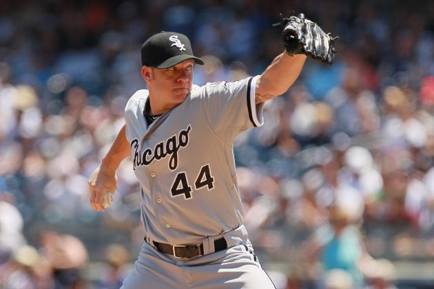 MLB All-Star Rosters 2012: Should Jake Peavy Get the Last Spot on AL Roster?